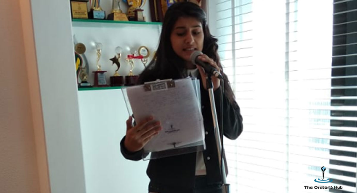 Preparing the aspiring youth for public Speaking