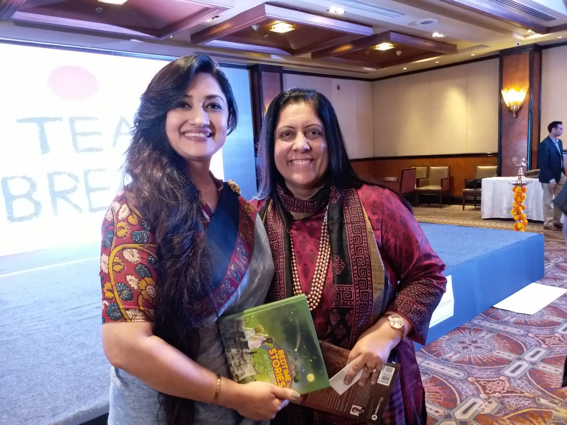 Sharing space with Dr.Swati Popat