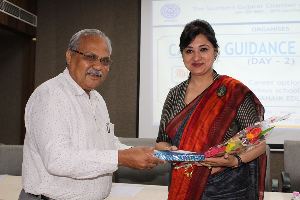 "Speaker at ""Career Guidance Mahotsav..."""